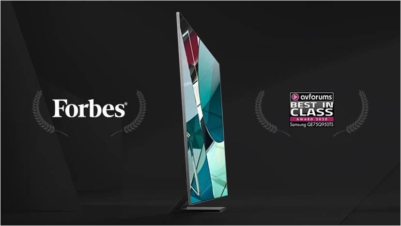 刷遍全球顶尖榜单,三星8K电视成大奖收割机